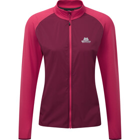 Mountain Equipment Trembler Jas Dames, cranberry/virtual pink
